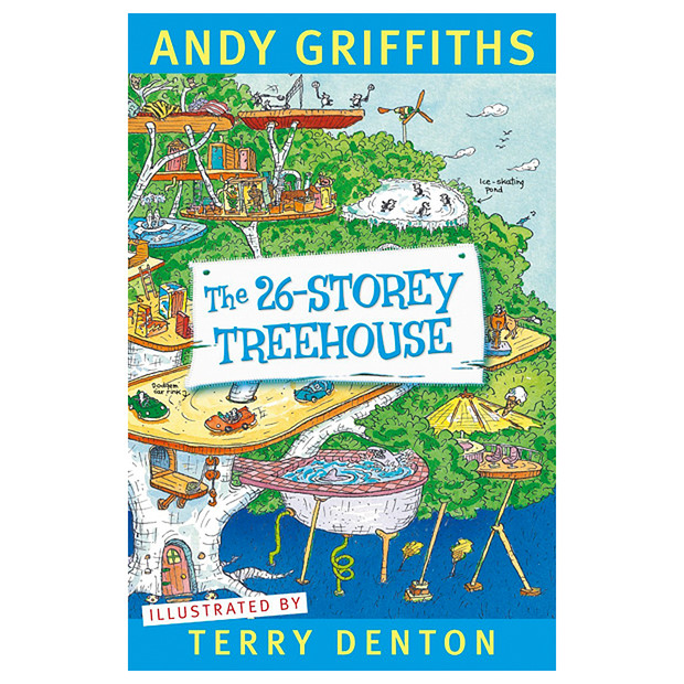 Book Review: The 26-Storey Treehouse by Andy Griffiths