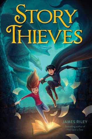 MG Book Review: Story Thieves by James Riley
