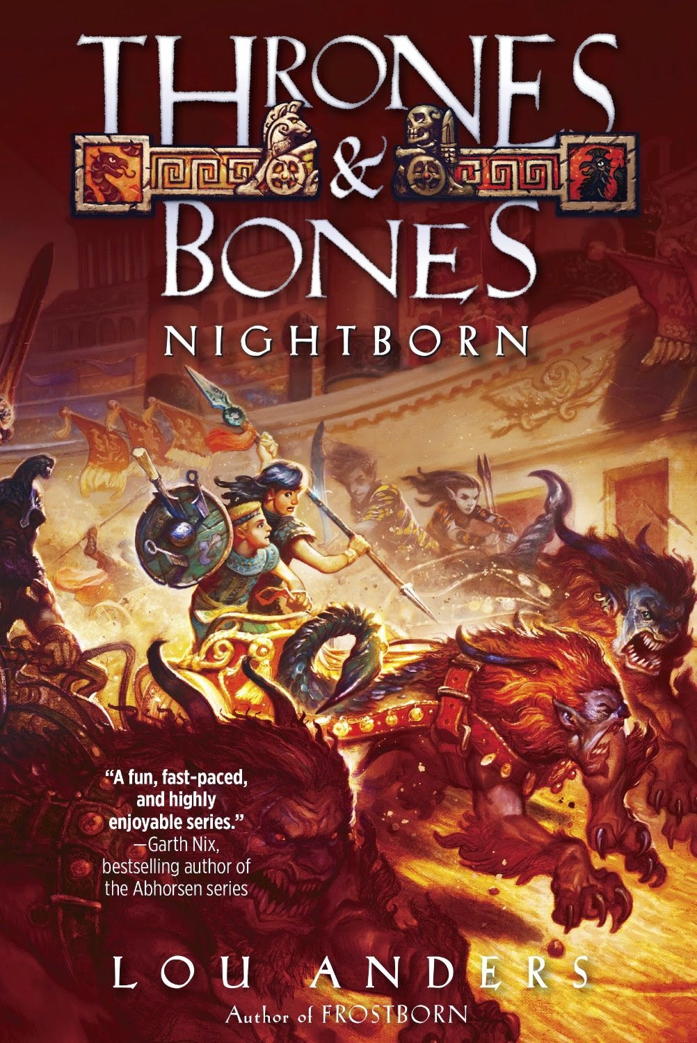 MG Book Review: Nightborn by Lou Anders (plus ARC giveaway)