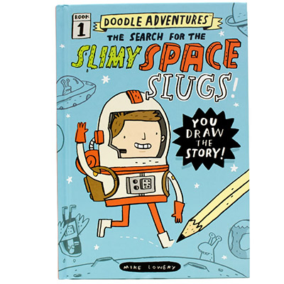 MG Book Review: Doodle Adventures – The Search for Slimy Space Slugs! by Mike Lowery