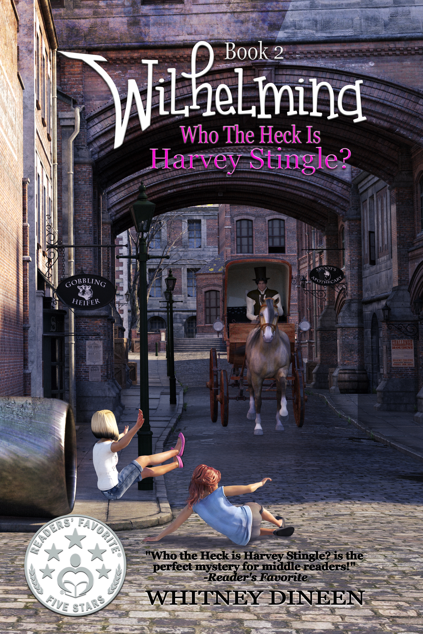 MG Book Launch: Who the Heck Is Harvey Stingle? by Whitney Dineen