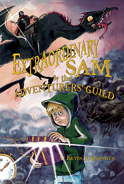 Author Interview: Extraordinary Sam by Kevin Springer