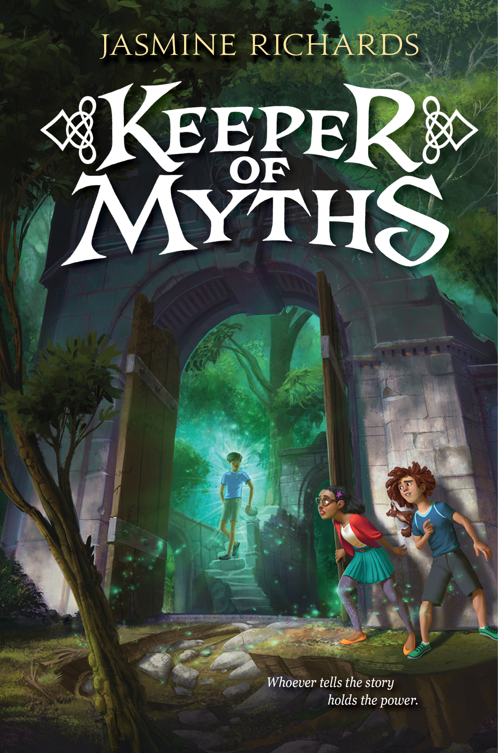 MG Cover Reveal: Keeper of Myths by Jasmine Richards