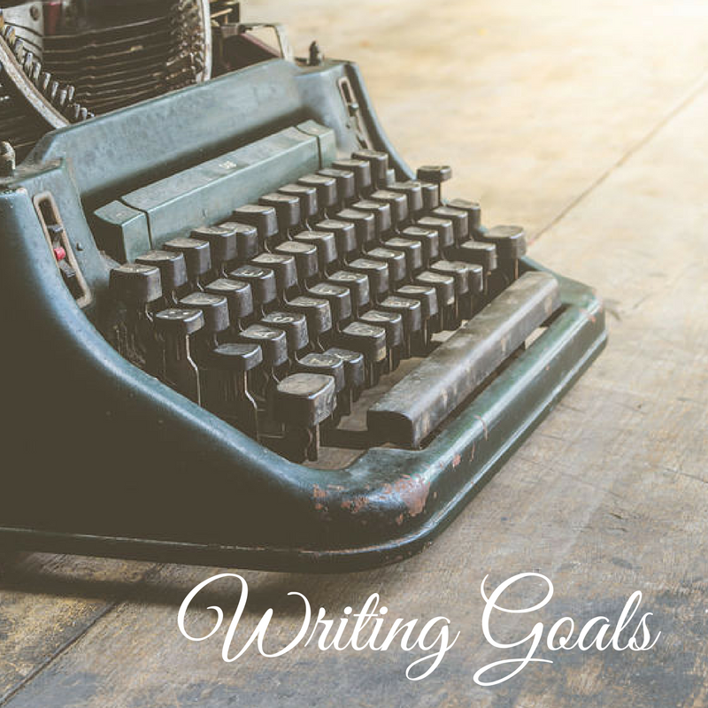 Writing Goals, 2017