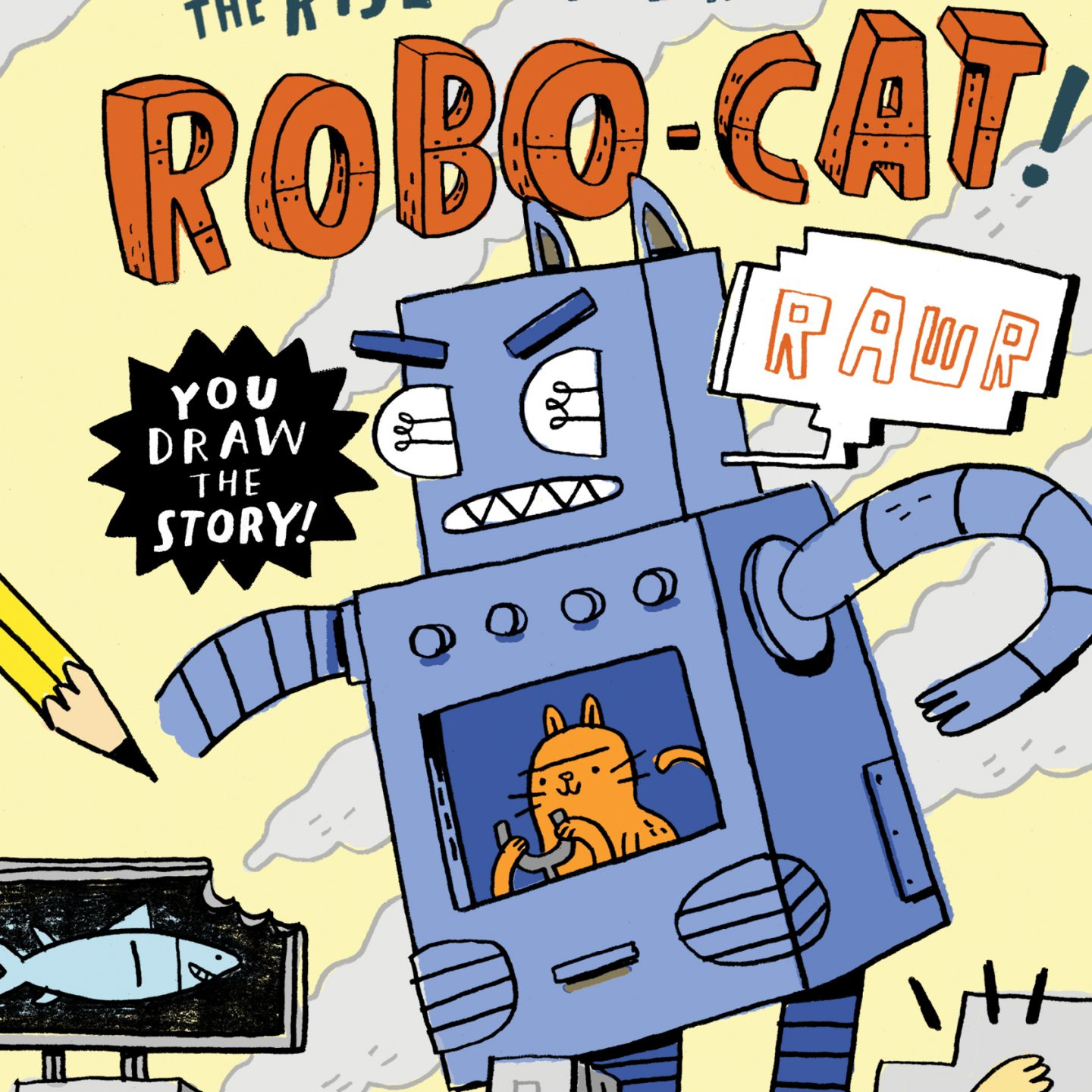 MG Book Launch: Doodle Adventures: The Rise of the Rusty Robo-Cat by Mike Lowery