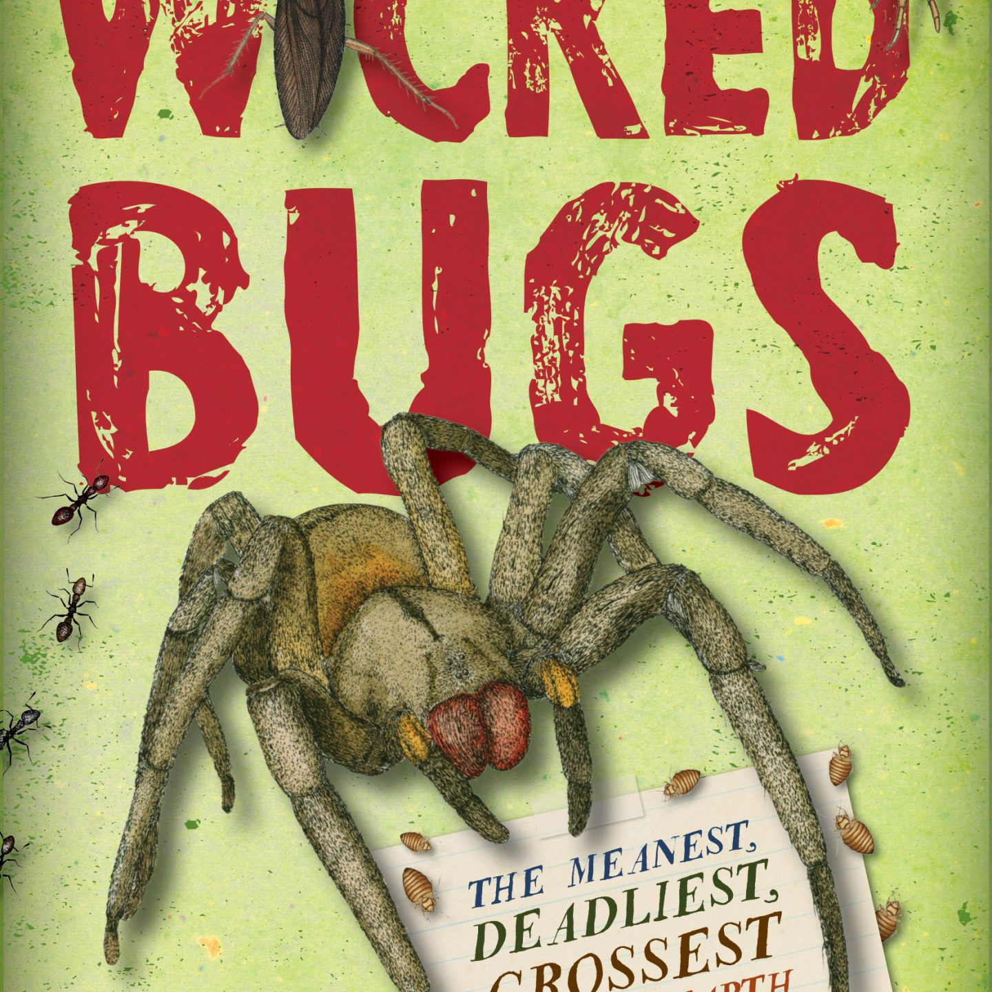 MG Book Review: Wicked Bugs by Amy Stewart
