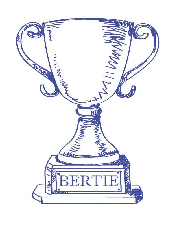The Bertie Winners!