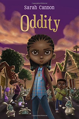 Happy Book Birthday- Oddity by Sarah Cannon!