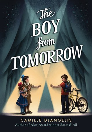 MG Book Review: The Boy from Tomorrow by Camille DeAngelis