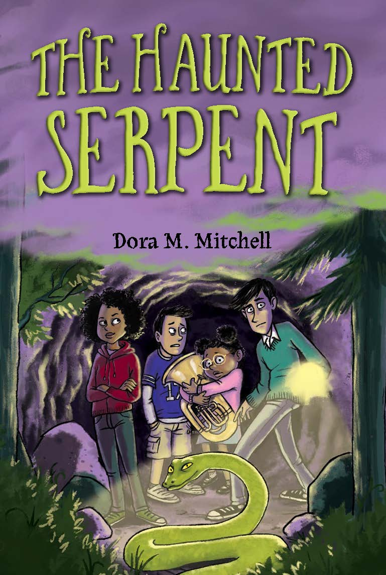 MG Cover Reveal: The Haunted Serpent by Dora Mitchell