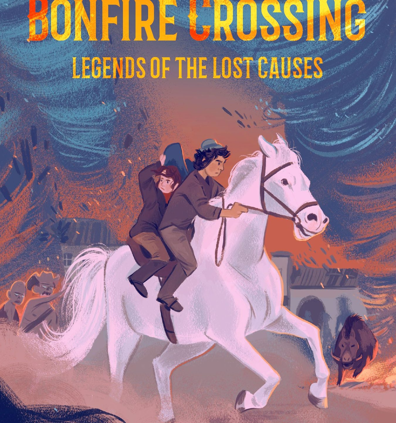 MG Cover Reveal: The Fang of Bonfire Crossing by Brad McLelland and Louis Sylvester