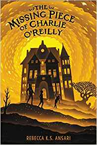 MG Book Review: The Missing Piece of Charlie O'Reilly by Rebecca K.S. Ansari