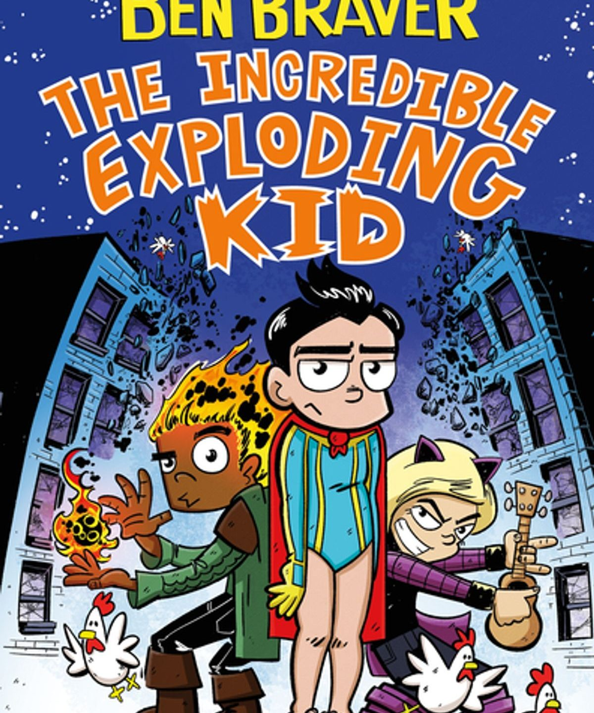 MG Book Launch: Ben Braver and the Incredible Exploding Kid by Marcus Emerson