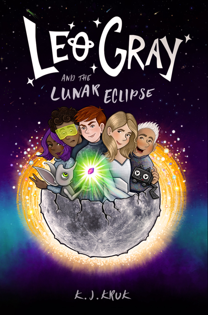 MG Book Launch: Leo Gray and the Lunar Eclipse by K.J. Kruk
