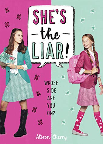 MG Book Review: She's the Liar by Alison Cherry