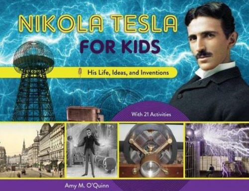 Happy Birthday Nikola Tesla for Kids by Amy O'Quinn