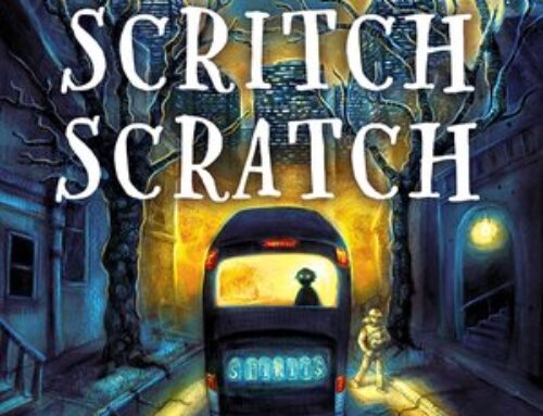 Spooky MG Book Trailer: Scritch Scratch by Lindsay Currie