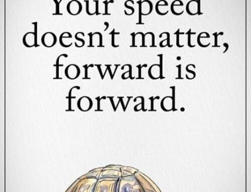 Mo-tivational Monday: Keep Moving Forward
