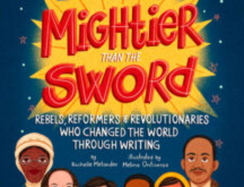A Chat with Rochelle Melander about MIGHTIER THAN THE SWORD