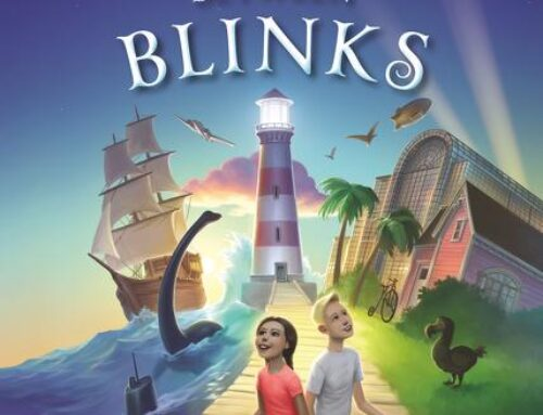 MO Reading: THE WORLD BETWEEN BLINKS by Amie Kaufman and Ryan Graudin